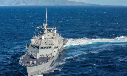 USS Forth Worth makes first visit to Guam