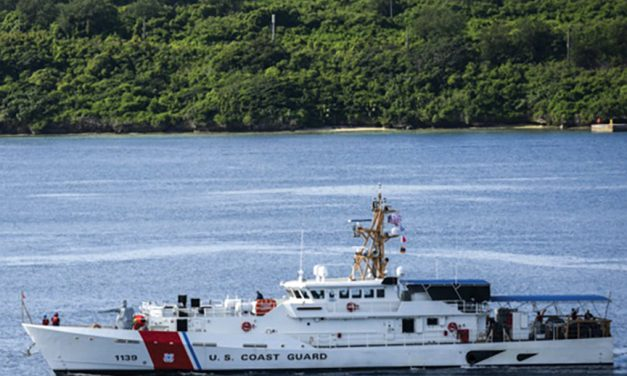 Home for the holidays: Second CG cutter set for Guam; third in training